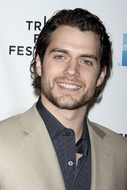 "Henry Cavill - ""Man of Steel"". He's a near perfect match but Christopher Reeve will always be Superman in my heart :)"