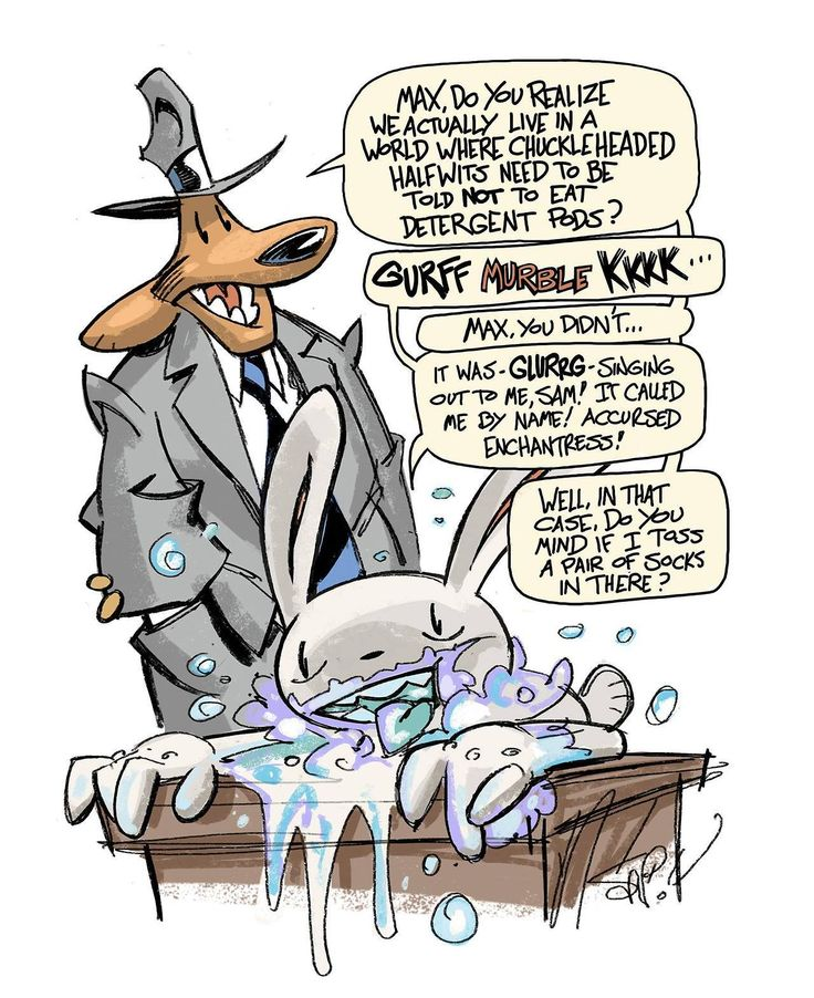 Sam and Max - Health Cops  by Steve Purcell