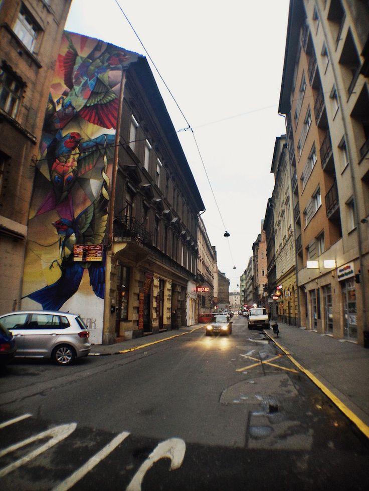 A Tour of District 7 – Budapest Street Art