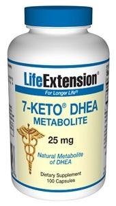 Life Extension 7-Keto DHEA Metabolite 25mg