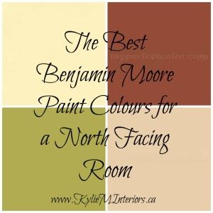 The Best Benjamin Moore Paint Colours For A North Facing Northern Exposure Room Off White