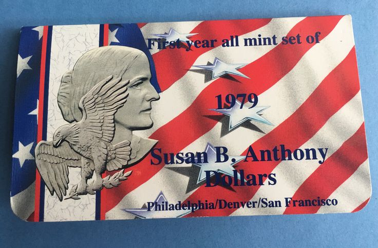A personal favorite from my Etsy shop https://www.etsy.com/listing/524815048/1979-susan-b-anthony-first-year-mint-set