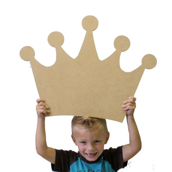 Crown Craft Wooden Unfinished Shape Paintable by BuildACrossCanton, $11.99