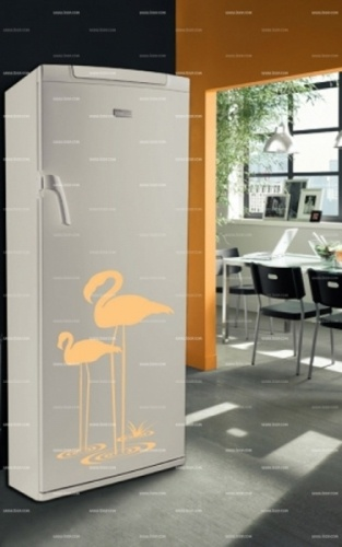 Stickers flamant rose    http://www.idzif.com/idzif-deco/stickers-deco/stickers-frigo/produit-stickers-flamant-rose-5521.html