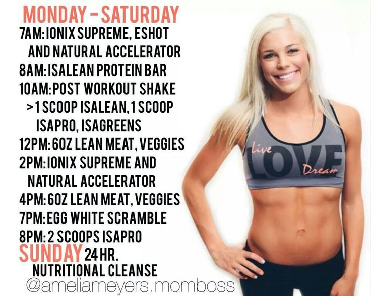 Amelia's nutrition schedule.  I think I'm going to do this so that I'm Cleansing once a week/ 4 times a month, instead of 2-2 day cleanses a month.