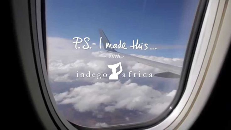 P.S.- I made this... with Indego Africa and ibaba Rwanda