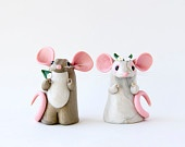 mimimi  BonjourPoupette  Miniature Animal People and other Magical Creatures