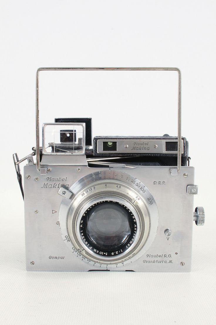 Plaubel Makina III Camera & 100mm f2.9 Anticomar Lens