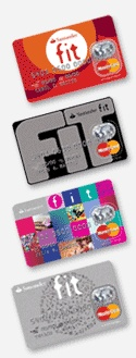 Santander Fit - Credit card specifically designed for college students (2008)