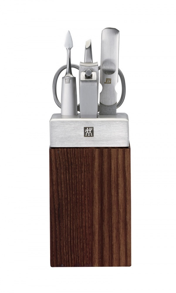 Zwilling TWINOX Manicure Bad Station 5tlg Esche-Holz