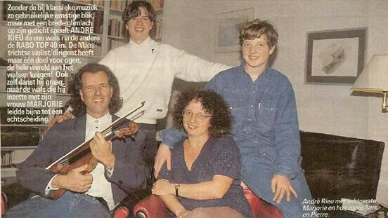 Andre Rieu and family