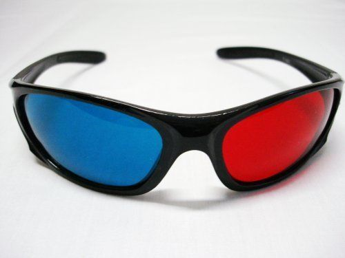 3D Sunglasses Red/blue by 3D Classes. $2.56. Material: resin plastic  Color: red blue with black frame  The Final Destination 3-D (Blu-Ray and DVD) Friday the 13th Part 3 (Blu-Ray and DVD) Jonas Brothers 3D Concert (Blu-Ray) Sea Monsters 3-D (Blu-Ray and DVD) Fly Me To The Moon 3-D  Hannah Montana & Miley Cyrus: Best of Both Worlds Concert 3D  Night of the Living Dead 3-D (2006) The Adventures of Sharkboy and Lavagirl in 3-D (2005) Polar Express 3-D (2004) Spy Kids 3-D ...