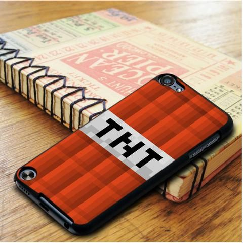 Tnt Bom Minecraft Creeper Game iPod 5 Touch Case