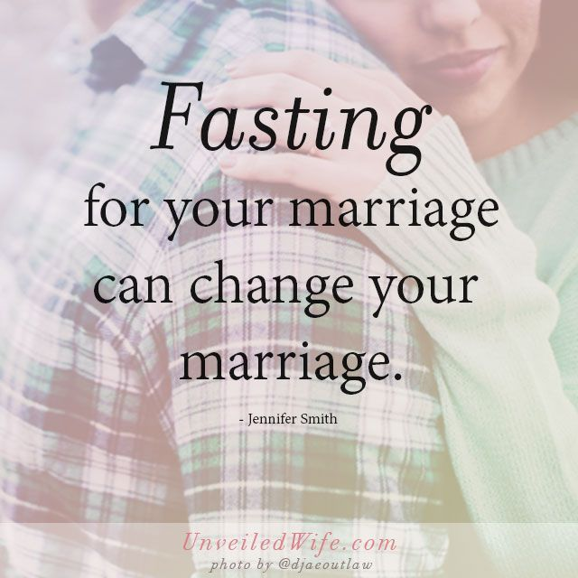 Have You Ever Fasted For Your Marriage? {Start Today}
