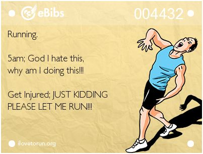Image result for runner injury memes