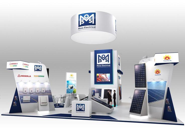 12m x 12m exhibition stand design