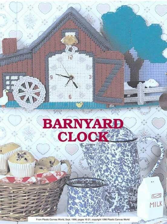 Barnyard Clock 1/5