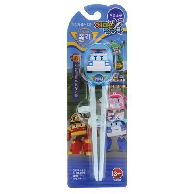 Đũa tập ăn Pororo hình Robot Poli - Hotline mua hàng nhanh: 0919 743 069