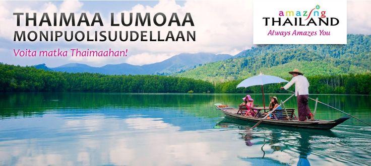 Thaimaa lumoaa monipuolisuudellaan - Voita matka Thaimaahan! http://www.rantapallo.fi/monipuolinen-thaimaa/ #thaimaa #kilpailu