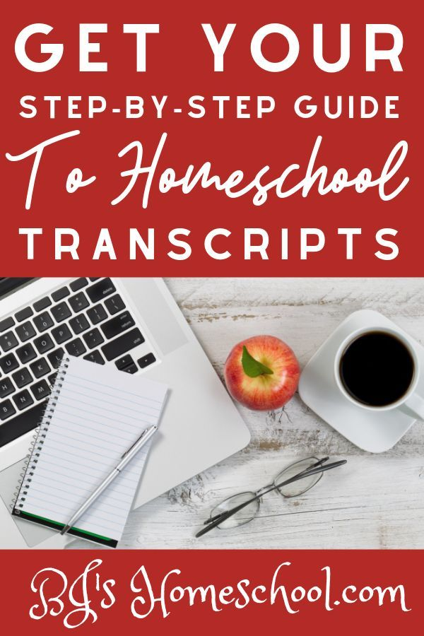 Providing a step-by-step information for making your teen's transcripts for homeschool,…