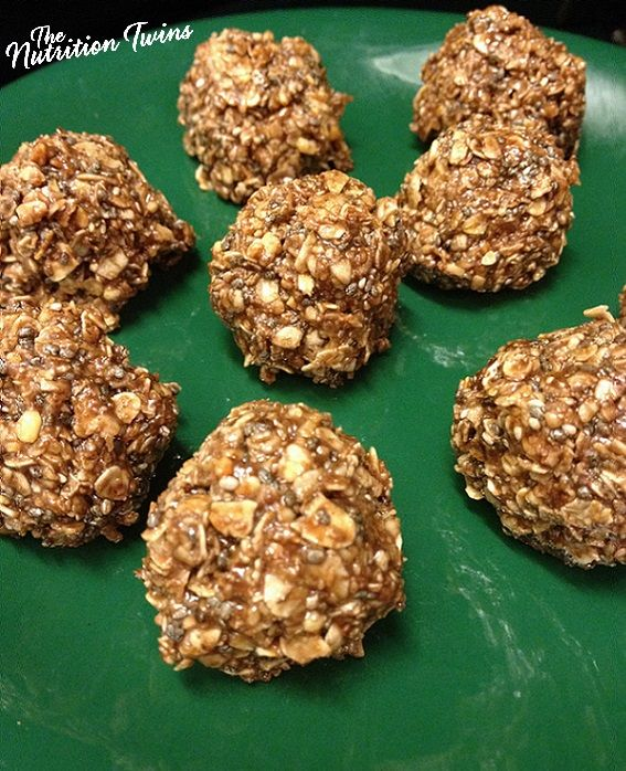 Coco Chia Granola Balls | Insanely Delicious | Super Easy to Make (No Bake) | Only 59 Calories | For MORE RECIPES please SIGN UP for our FREE NEWSLETTER www.NutritionTwins.com