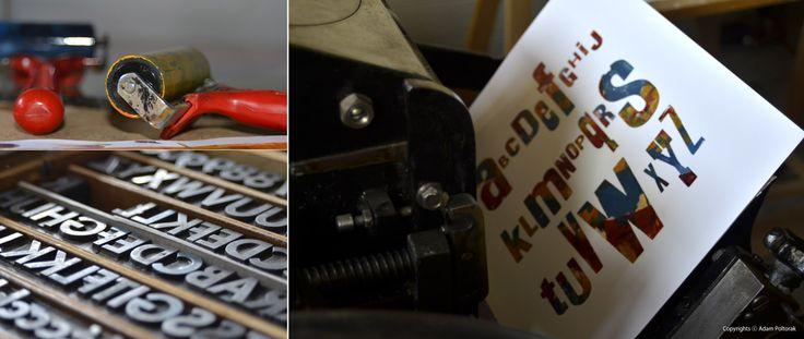 #letterpress #alphabet #typography
