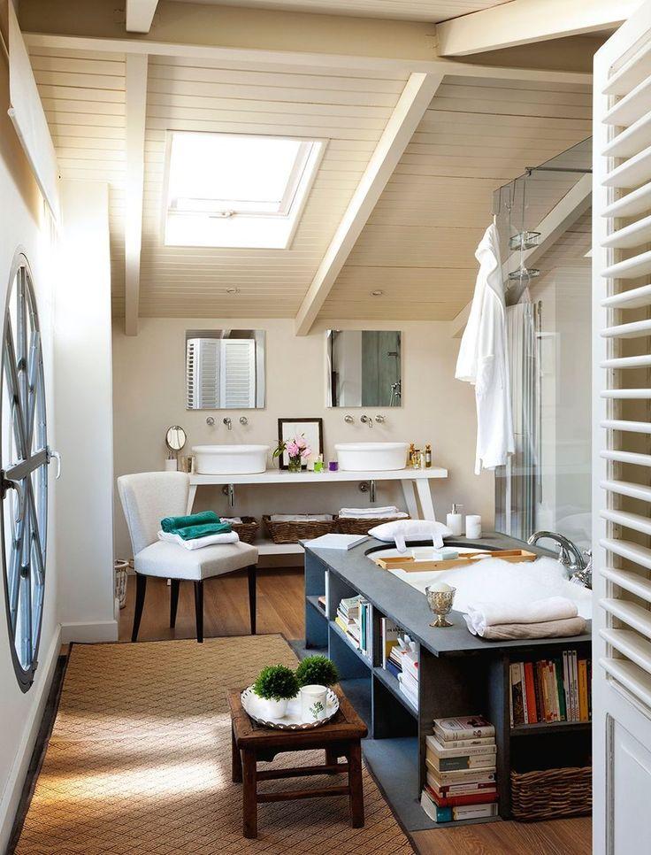 adelaparvu.com despre pod mansardat, casa Spania, arhitect Pablo Alvarez de Lara, Foto El Mueble (3)
