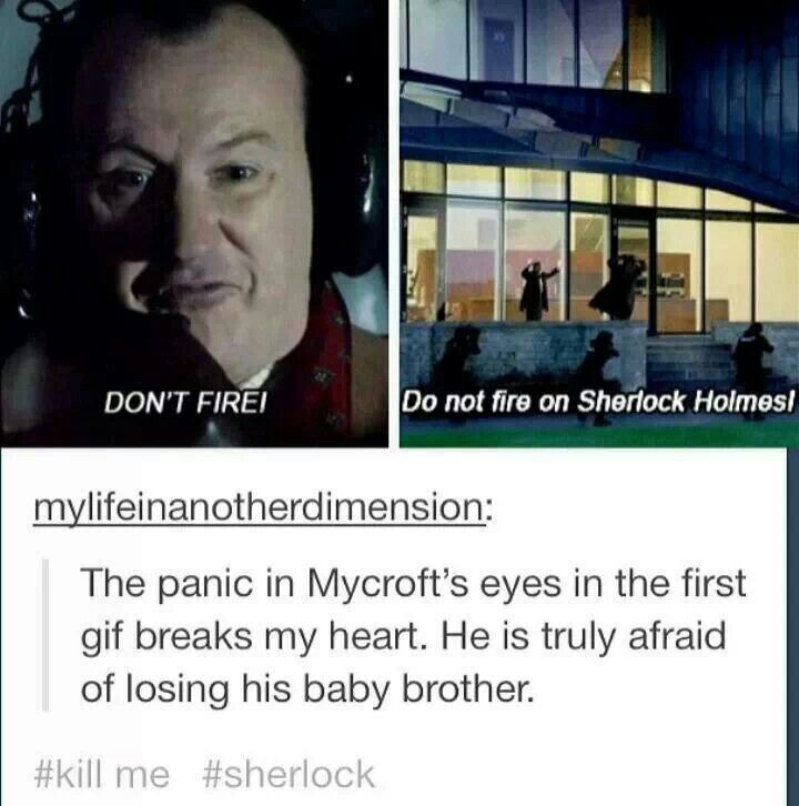 buT COULD IMAGINE IF A SHOT WAS FIRED AND YOU JUST SAW SHERLOCK COLLAPSE AND BOOM. CREDITS