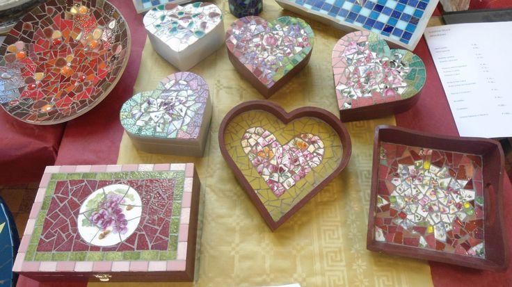 Mosaikkreationen - Mosaic creations