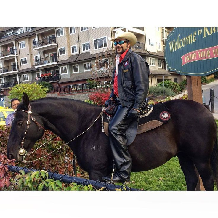 Can you think of a more Western Canadian greeting for Rocky Mountaineer guests than a horseback hello from a Kamloops Mounted Patrol…