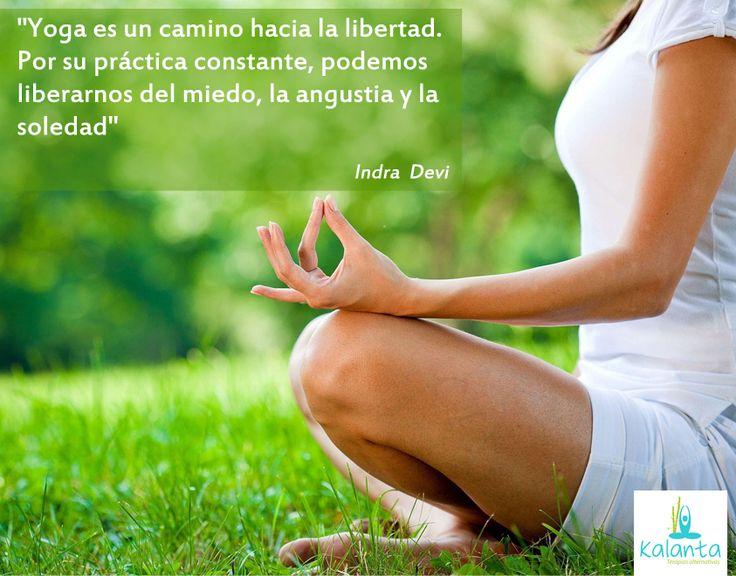 Yoga, un camino hacia la libertad.