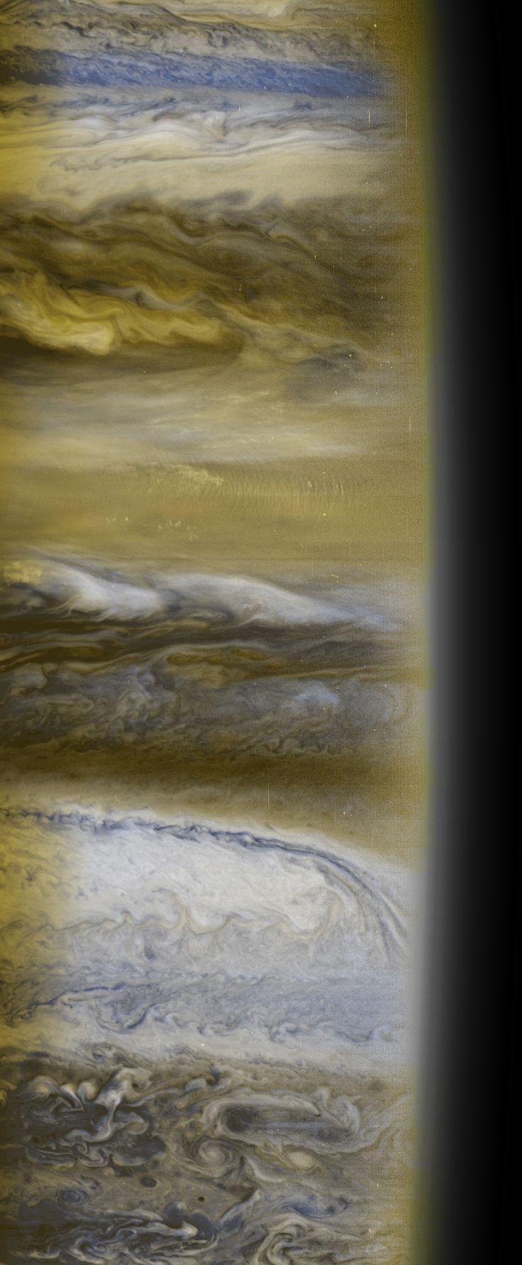 Atmospheric Structure (NASA New Horizons Jupiter Encounter Image)