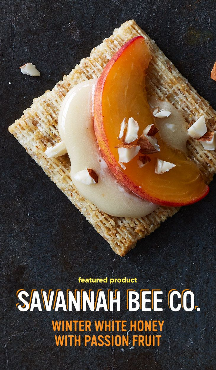 Winter White Honey with Passion Fruit: It has a pure and clean sweetness with notes of cinnamon. Plus, it's spreadable, which makes it perfect for a Triscuit topper. Savannah Bee Company is one of the Makers of More, presented by Triscuit.