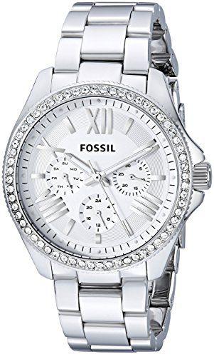 Sale Preis: Fossil Damen-Armbanduhr Retro Traveler Analog Quarz Edelstahl AM4481. Gutscheine & Coole Geschenke für Frauen, Männer und Freunde. Kaufen bei http://coolegeschenkideen.de/fossil-damen-armbanduhr-retro-traveler-analog-quarz-edelstahl-am4481