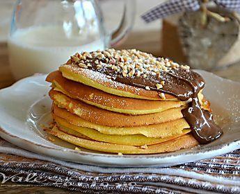 PANCAKES ALLA NUTELLA ricetta facile e veloce