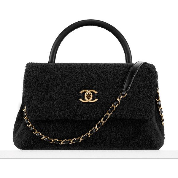 Chanel Just Released a Giant Pre-Collection Fall 2016 Lookbook; Check... ❤ liked on Polyvore featuring bags, handbags, purse bag, checked bags, embroidered handbags, chanel purse and beaded bags