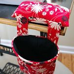 Free Sewing Caddy & Thread Catcher Patterns - LOVE my TipNut!!
