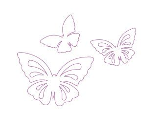 DIY Freezer Paper Stenciled T Shirt + Butterfly Template Printable |