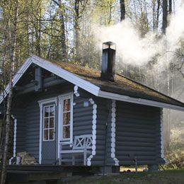 Beautiful Eine Sauna im Garten weckt alle Lebensgeister