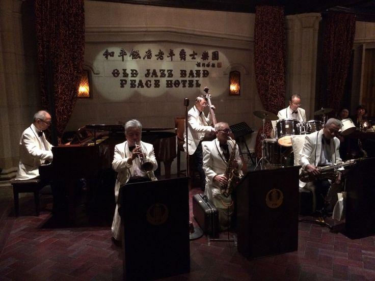 Old Jazz Band, Jazz Bar, Fairmont Peace Hotel, Peace Hotel, Fairmont, Shanghai, China