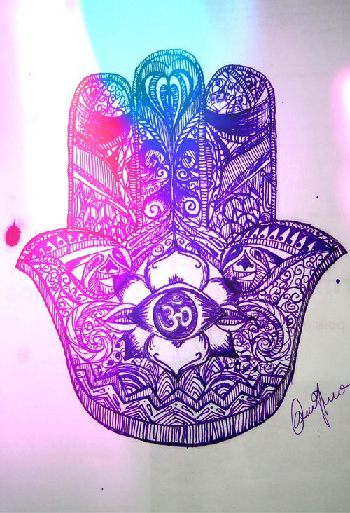Hamsa Is An Amulet That Helps Banish Evil Or Any Negative Energy It Brings