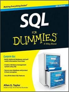 SQL For Dummies 8th Edition Pdf Download e-Book
