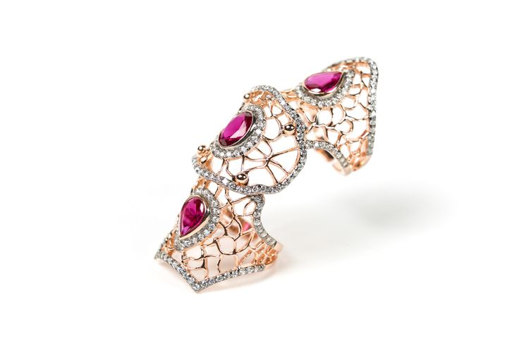 anello, bijoux in argento e zirconi www.airoldifashion.com