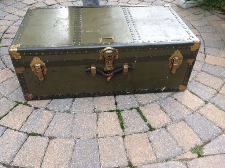 35 Best Images About Military Trunk On Pinterest Heating