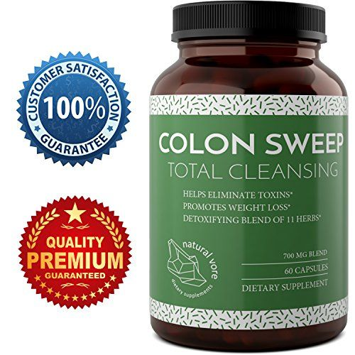 Natural And Pure Colon Cleanse With Calcium Carbonate - Detox And Colon Cleanse Pills - Boost The Immune System With Psyllium Husk   Alfalfa   Bentonite   Buckthorn - Master Cleanse By Natural Vore -- Be sure to check out this awesome product.