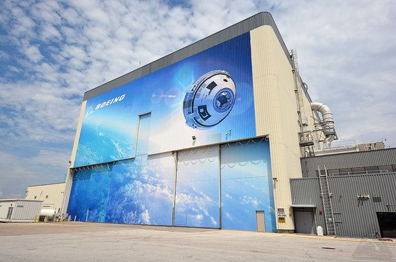 Boeing Opens Renovated Shuttle Facility for 'Starliner' Crewed Space Capsule http://whtc.co/6w57