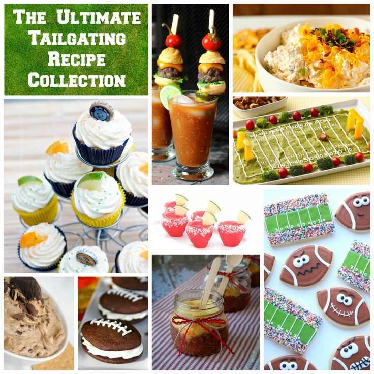 The Ultimate Tailgating Recipe Collection -- 75 of the most amazing, delicious, adorable, drool-inducing tailgating recipes ever via @Jennifer Young - Endlessly Inspired