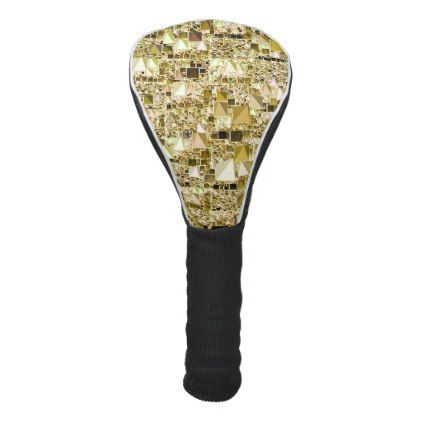 modern geo fungolden golf head cover - home gifts ideas decor special unique custom individual customized individualized