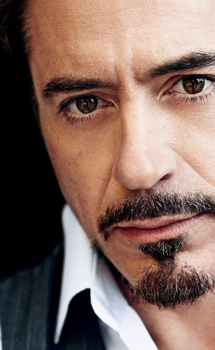 If there is one man I would literally spend a night with... it would be Robert Downey Jr.