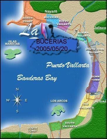 Mexique; Bucerias Puerto Vallarta et Banderas Bay. Voyage printemps 2014
